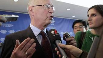 Klaus Schwab äussert sich zu Motto und Zielen des diesjährigen WEF