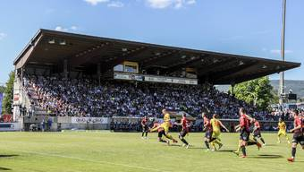 «Teils deutliche Überschreitung der Immissionsrichtwerte»: Das Fussballstadion Brügglifeld.