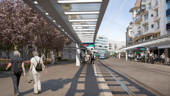 Baustellen Zürich