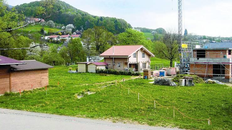 Unbestritten: Der Verkauf der Landparzelle im Gebiet des ehemaligen Knabenheims in Oberbipp. (knr)