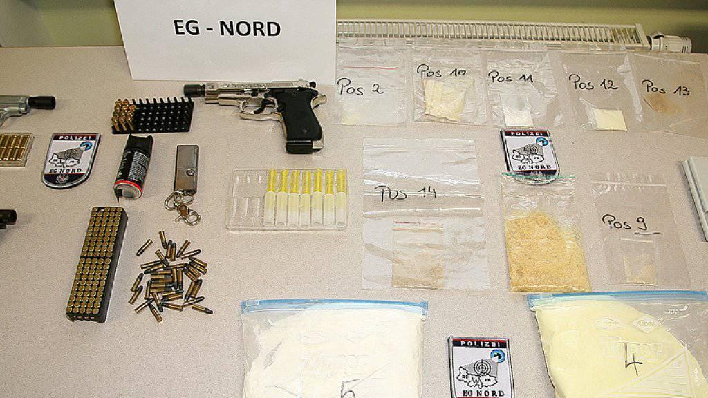 Anfang September haben die oberösterreichische und die tschechische Polizei gemeinsam einen Drogenring gesprengt, der Crystal Meth von Tschechien nach Oberösterreich geschmuggelt hat. In der Schweiz dürfte der Konsum der Droge aber nur einen marginalen Stellenwert haben. (Archivbild)