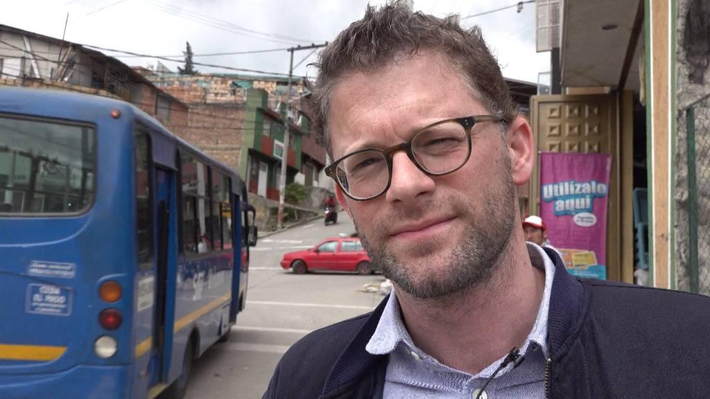 Schweizer in Kolumbien: Armut in Bogotás Süden