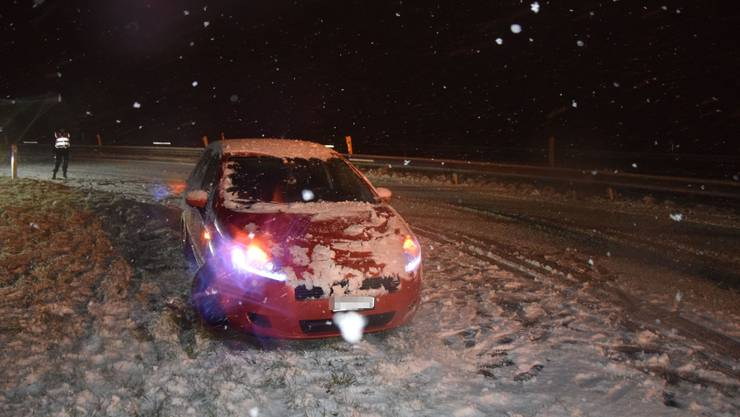 Bei der Autobahnausfahrt Oensingen kam es zu einem Unfall.