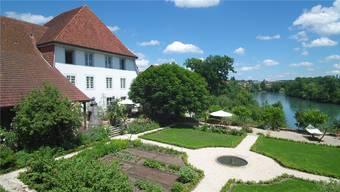 Der Barockgarten des ehemaligen Gasthofs Kreuz ist nicht unter Denkmalschutz.
