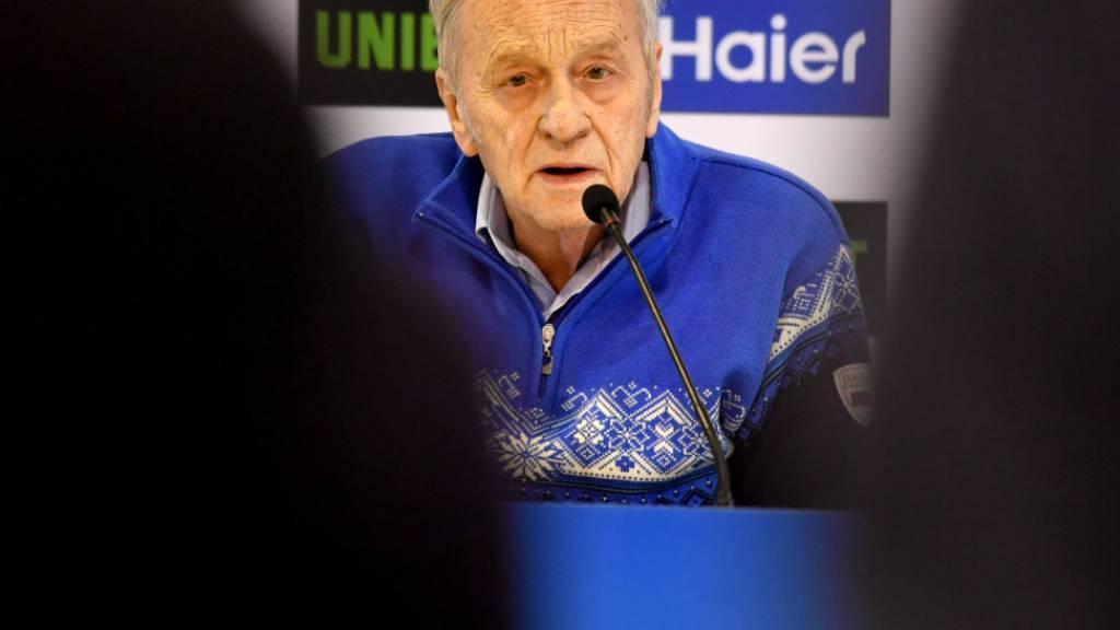 Spital statt Kongress: Gian Franco Kasper lag wegen Atemproblemen mehrere Tage auf der Intensivstation