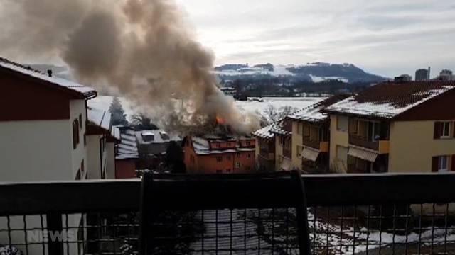 1 Tote bei Brand in Gümligen