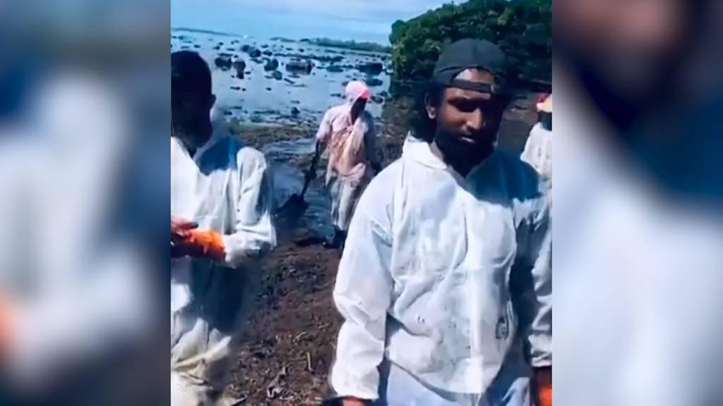 Tausend Tonnen Treibstoff ausgelaufen: Mauritius kämpft mit Öl-Pest