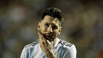 Lionel Messi und seine Teamkollegen werden in Jerusalem nicht spielen