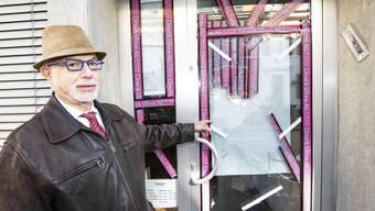 Vandalismus in der Jüdischen Metzgerei