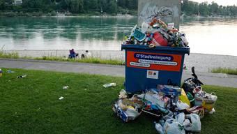 Nicht alle Flaschen und Dosen finden den Weg in die Abfallcontainer.