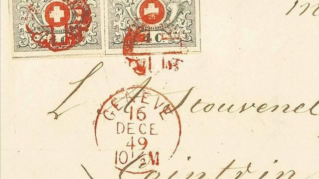 Brief der Sammlung Ticino