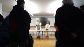 Am Montag besuchte Jean-Marie Lovey die Strafanstalt von Pamon in Granges VS.
