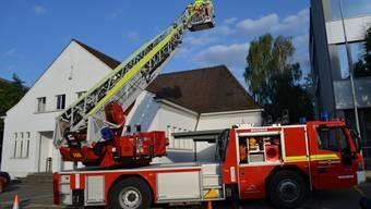 Hauptübung Feuerwehr Brugg