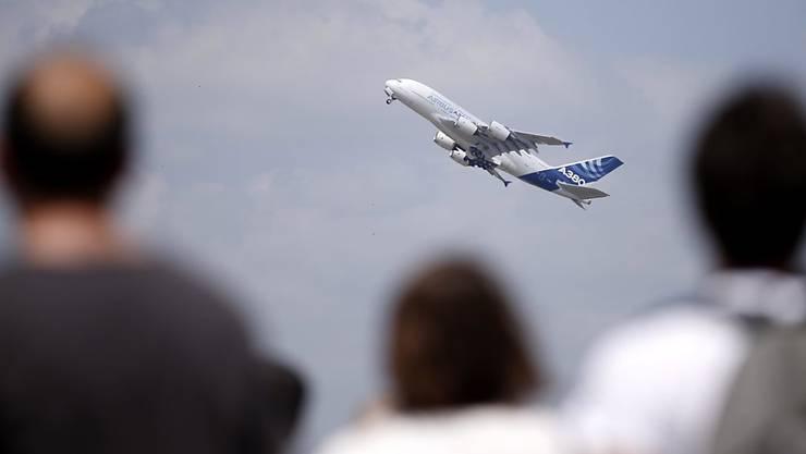 Die Briten haben momentan kein Interesse am Airbus A380 (Symbolbild).