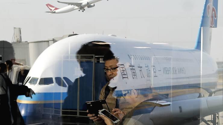 China-Southern-Passagiere mussten in Shanghai stundenlang auf einen Abflug warten. Grund war eine abergläubische Chinesin. (Symbolbild)