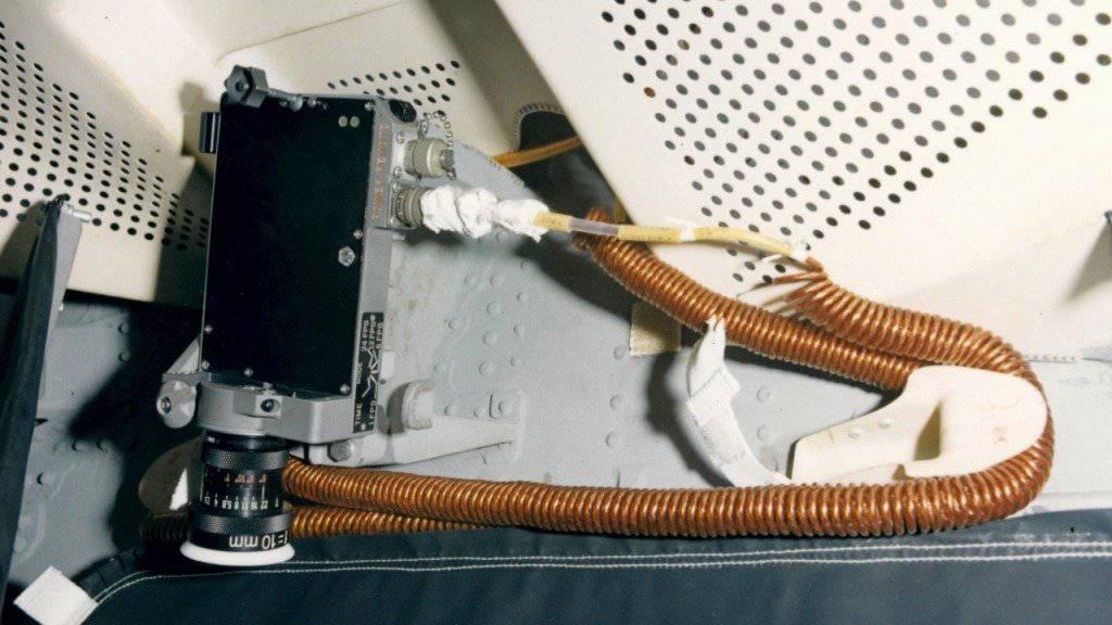 Die Datenerfassungskamera in der Apollo-10-Landefähre war mit Objektiven der Aarauer Firma Kern ausgerüstet. Eine weitere, ebenso bestückte Kamera befand sich im Command Service Module. (Archivbild)