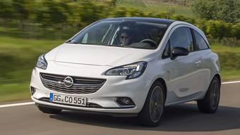Opel bringt den Kleinwagen Corsa auch mit Elektromotor.