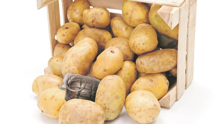Eine Kartoffel-Lieferung aus Frankreich sorgte für Aufregung.
