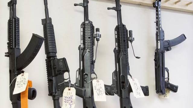 Die Zahl der US-Haushalte mit Waffen ist laut einer Studie zurückgegangen (Symbolbild)