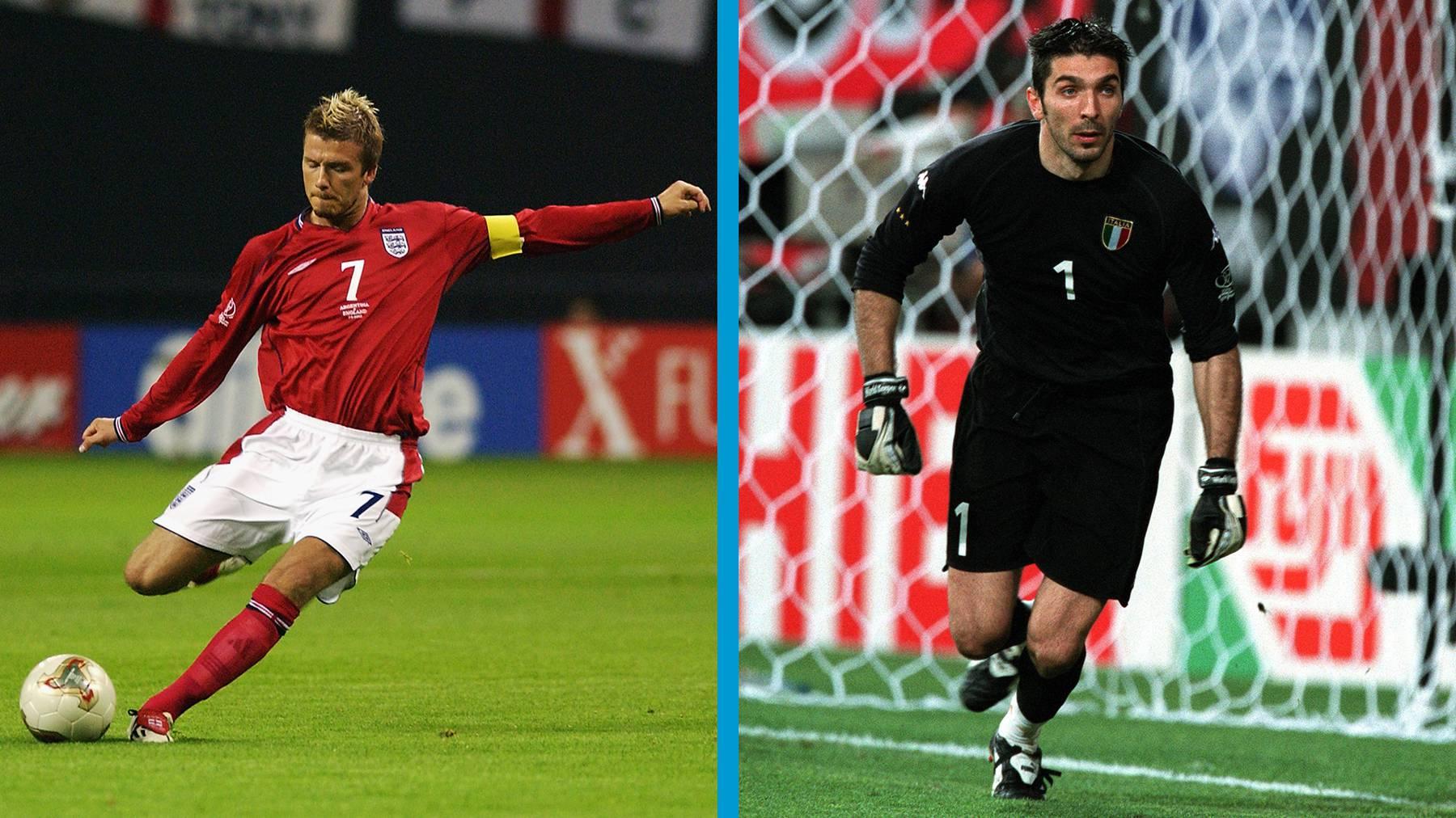 Beckham versus Buffon?