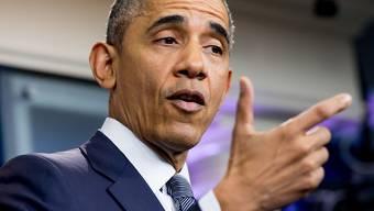 """""""Das ist keine Reality-Show"""" - US-Präsident Obama kritisierte den Wahlkampf des republikanischen Präsidentschaftskandidaten Donald Trump."""