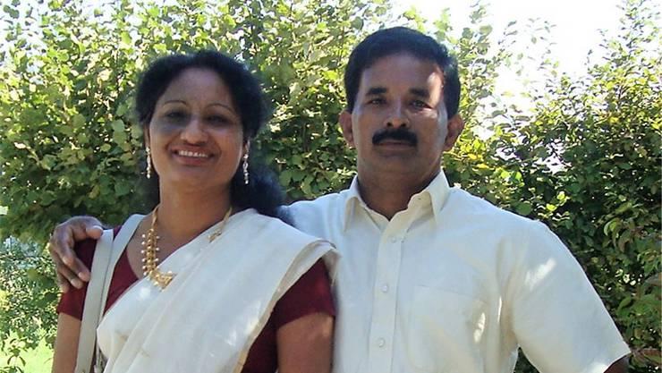 Francis und Anna Kunnelparampil sind für die Indisch-Katholische Gemeinschaft verantwortlich.