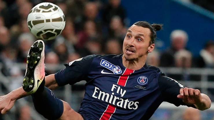 Zlatan Ibrahimovic verlässt Paris Saint-Germain
