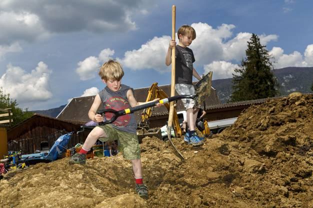 Pumptrack bauen im Bikerpark Weststadt.05