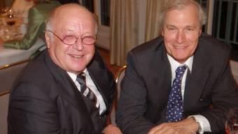 Rechts im BIld: Harro Cloppenburg, der allerreichste in der Schweiz wohnhafte Milliardär.