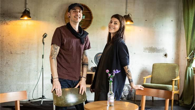 Für Marco Hagenbuch und Sybel Stadelmann ist das neue Kulturlokal ein Herzensprojekt.