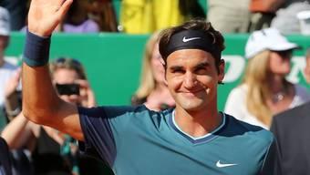Bekannt wie ein bunter Hund: Roger Federer (Archiv)