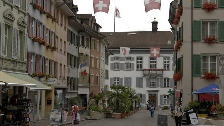Kanton als Frequenzbringer: Laut Stadtpräsident Lukas Ott ist die Verwaltung (im Hintergrund das Regierungsgebäude) für Liestal von grösster Bedeutung.