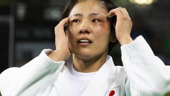 Haruka Tachimoto holte Gold für Japan im Limit bis 70 kg