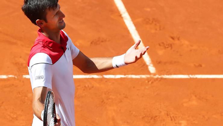 Am ATP-Turnier in Madrid setzt es für Novak Djokovic eine nächste Enttäuschung ab