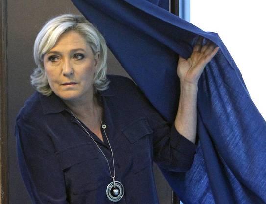Könnte eine ungemütliche Gegnerin für Präsident Macron werden: Die Rechtspopulistin Marine Le Pen.
