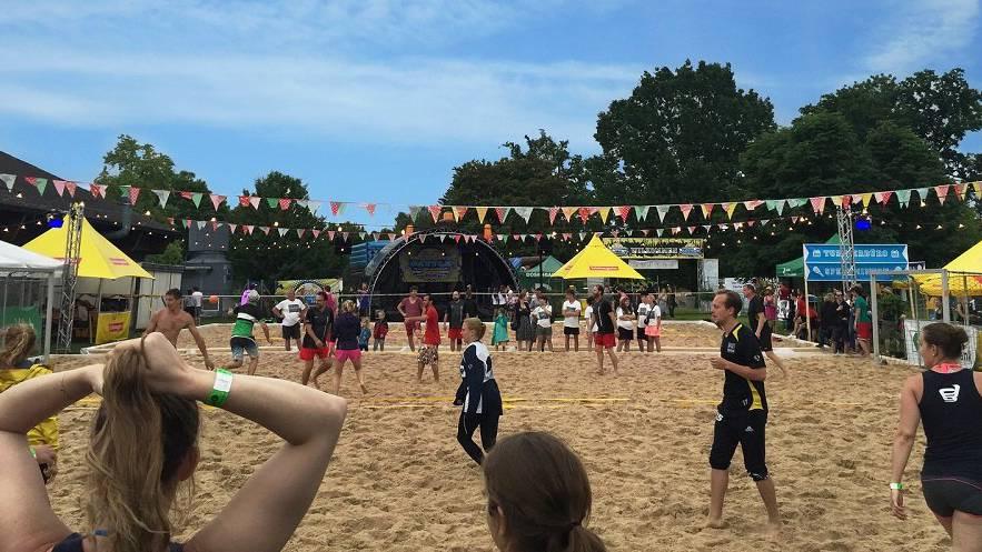 Beach Battle Festival in Uzwil