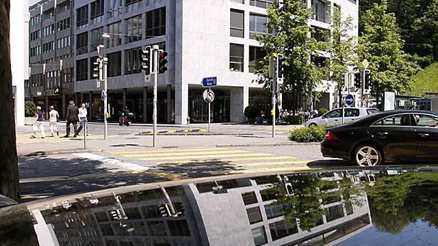 Hauptsitz der Xstrata an der Bahnhofstrasse in Zug