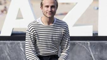 Max Hubacher steht als 24-jähriger Schauspielschüler an einem Punkt, den andere Schauspieler erst nach Jahrzehnten erreichen. (Archivbild)