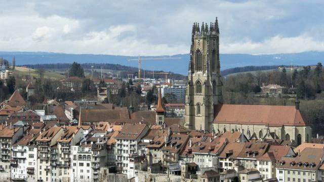 Blick auf die Stadt Freiburg (Archiv)