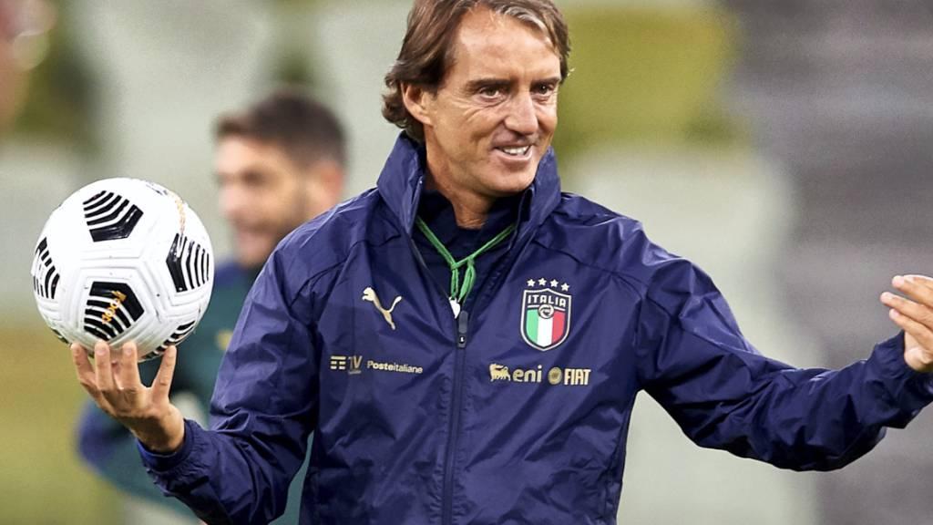 Italien mit Trainer Roberto Mancini ist der Gastgeber und der Favorit der Gruppe A