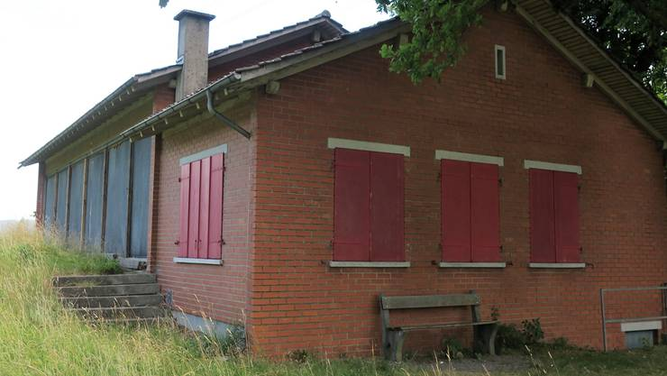 Das ehemalige Schöftler Schützenhaus an der Suhrentalstrasse soll der Jagdgesellschaft Schöftland Ost verkauft werden.