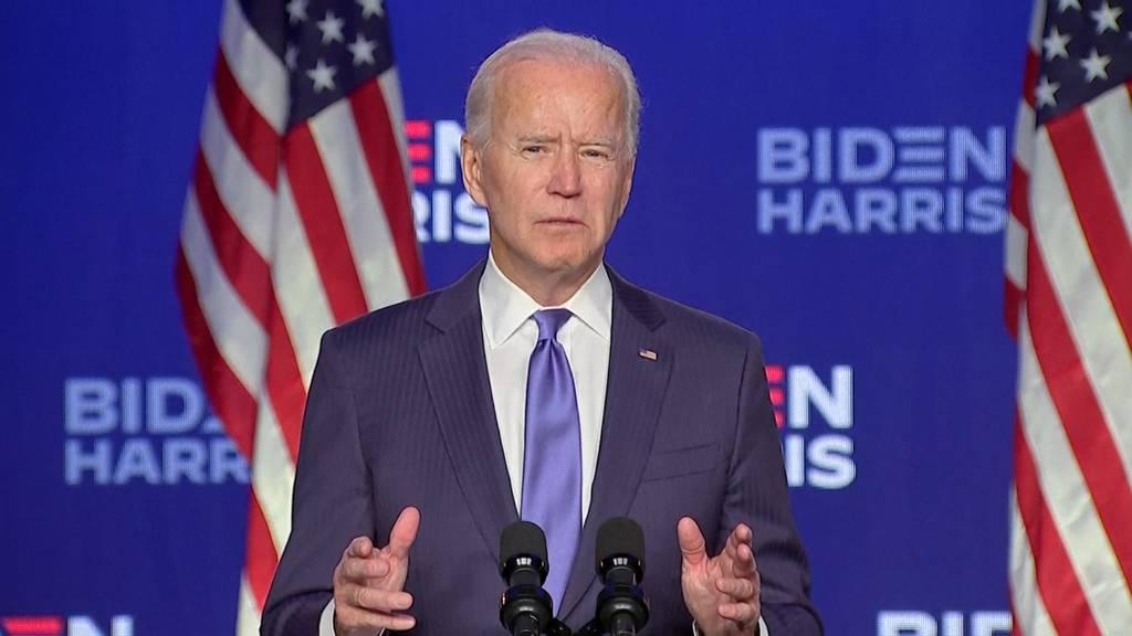 Biden: «Wir werden dieses Rennen gewinnen»