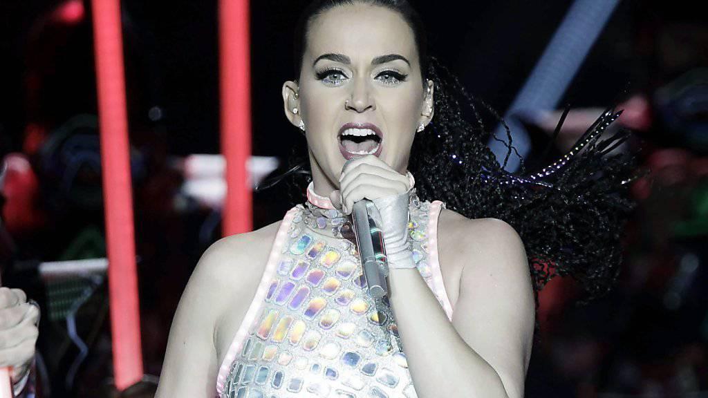 Sängerin Katy Perry engagiert sich als Sonderbotschafterin für das Kinderhilfswerk Unicef. (Archivbild)