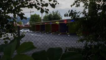 Eröffnung der Zürcher Sexboxen