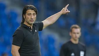 Murat Yakin wird die Cup-Partie gegen die Old Boys verpassen, weil er in Bulhgarien Ludogorez Rasgrad beobachtet.
