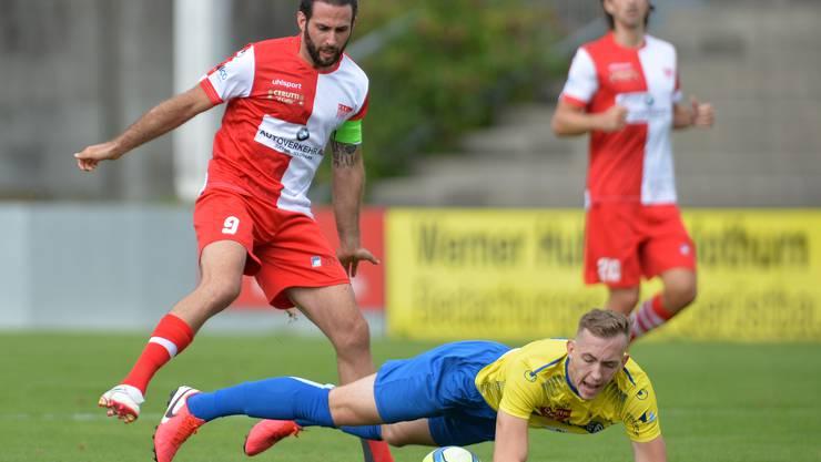 FC Solothurn gegen den FC Langenthal