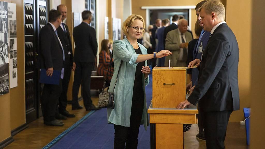 Kein Sieger nach erster Runde der Präsidentenwahl in Estland