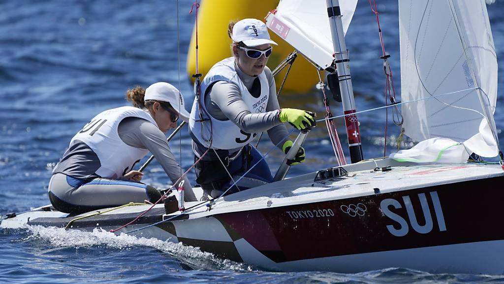 Fahrni/Siegenthaler im Medal Race mit dabei
