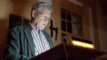 Buchautor Hans Schaub stellt am 21. Februar seinen zweiten Kriminalroman in Menziken vor. Archiv
