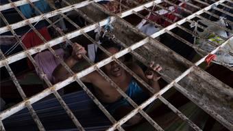 In brasilianischen Gefängnissen herrschen menschenunwürdige Zustände.Luz Photo/KEy